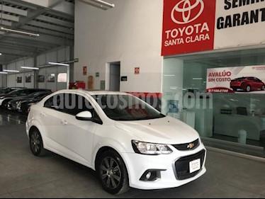 Chevrolet Sonic 4P LTZ TA A/AC. VE QC ABS BL F. NIEBLA RA-16 usado (2017) color Blanco precio $175,000