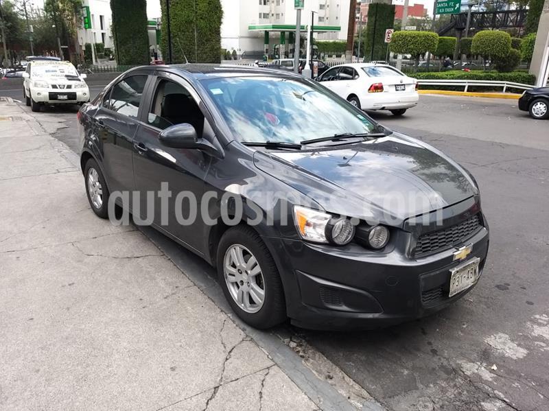Chevrolet Sonic Paq D usado (2015) color Gris precio $115,000