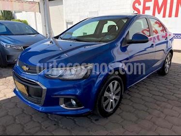 foto Chevrolet Sonic 4P LTZ TA A/AC. VE QC ABS BL F. NIEBLA RA-16 usado (2017) color Azul precio $208,000