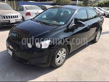 Chevrolet Sonic 4p LT L4/1.6 Man usado (2016) color Negro precio $159,000