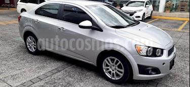 Chevrolet Sonic 4P LTZ TA A/AC. VE ABS BA F. NIEBLA RA-16 usado (2012) color Plata precio $105,000