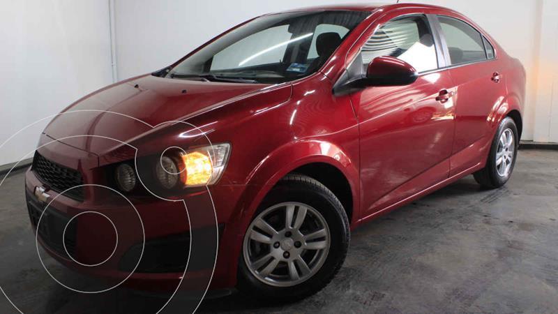 Foto Chevrolet Sonic LT usado (2016) color Rojo precio $175,000