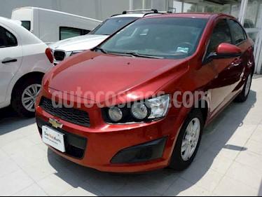 Chevrolet Sonic 4p LT L4/1.6 Man usado (2016) color Vino Tinto precio $155,000