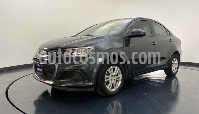 Chevrolet Sonic LT HB usado (2017) color Gris precio $169,999