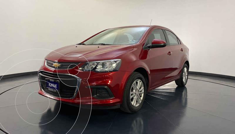 Chevrolet Sonic LT Aut usado (2017) color Rojo precio $169,999
