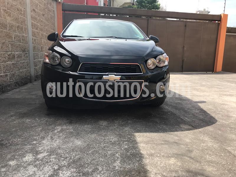 Chevrolet Sonic LTZ Aut usado (2015) color Negro precio $120,000