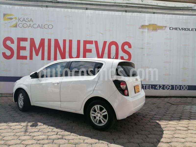 foto Chevrolet Sonic LT HB usado (2016) color Blanco precio $165,000
