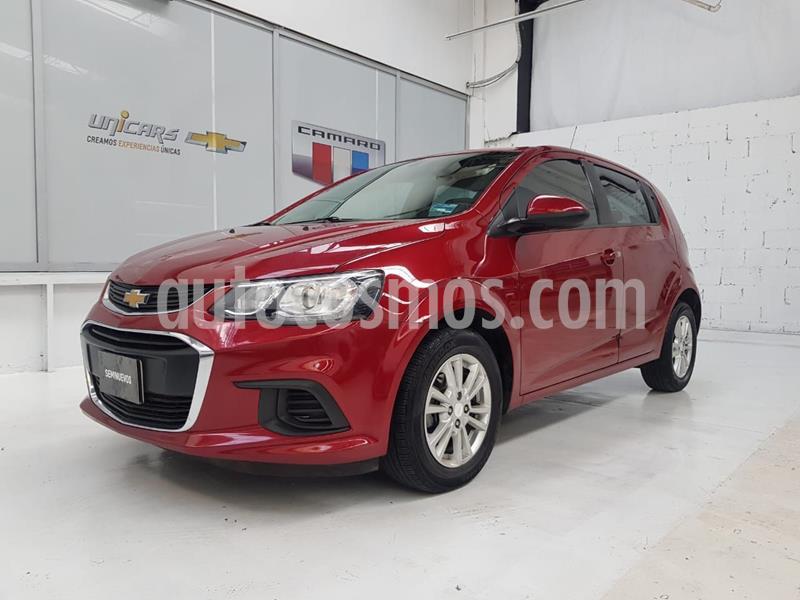 Chevrolet Sonic LT HB usado (2017) color Rojo precio $180,000
