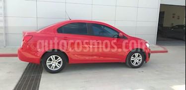 Chevrolet Sonic LT Aut usado (2016) color Rojo precio $160,000