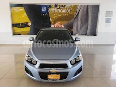 Chevrolet Sonic 4P LT TM5 A/AC. VE BA RA-15 usado (2014) color Azul precio $122,900