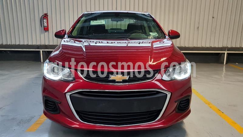 Chevrolet Sonic LT usado (2017) color Rojo precio $169,000