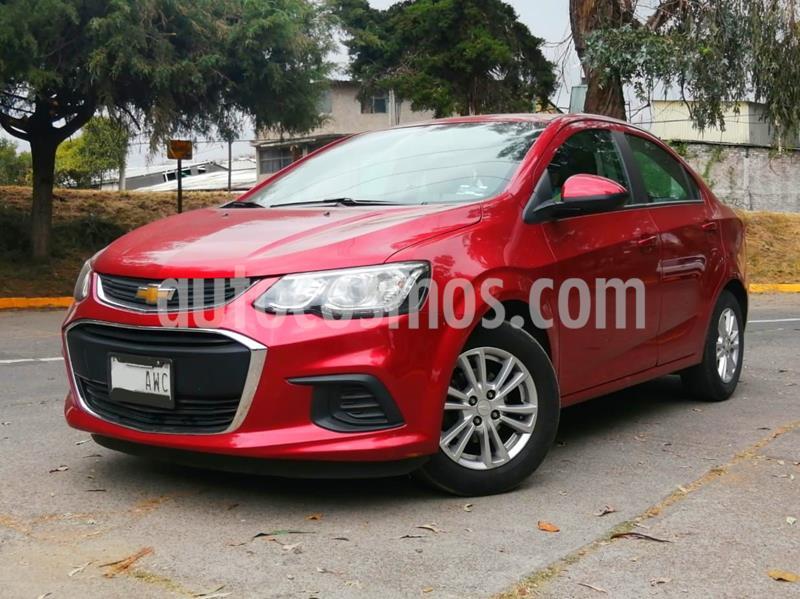 Chevrolet Sonic LT usado (2017) color Rojo precio $140,000