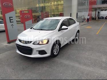 foto Chevrolet Sonic LT usado (2017) color Blanco precio $148,900