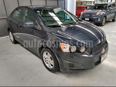 Chevrolet Sonic 4P LT TM5 A/AC. VE BA RA-15 usado (2015) color Azul Marino precio $145,000
