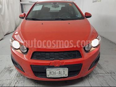 Chevrolet Sonic LS usado (2016) color Rojo precio $140,900