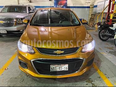 Chevrolet Sonic LT usado (2017) color Naranja precio $149,000