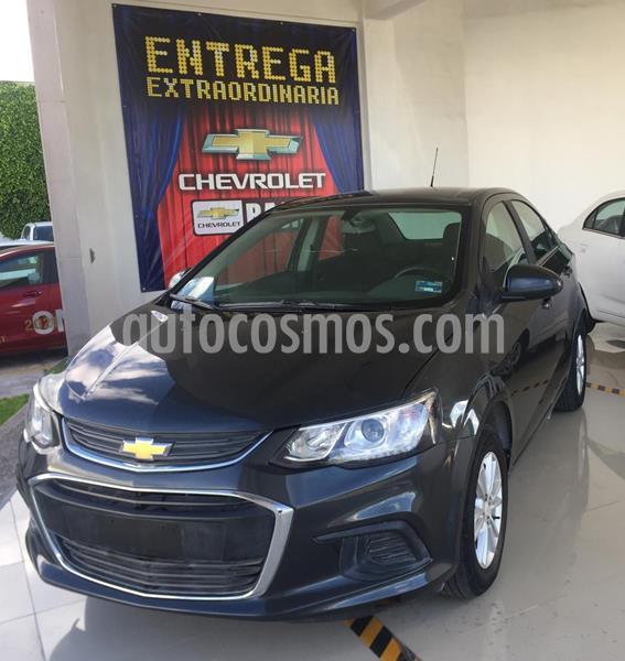 Chevrolet Sonic LT HB usado (2017) color Gris precio $169,500