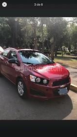 Chevrolet Sonic LS usado (2013) color Rojo Tinto precio $90,000