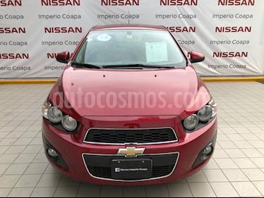 Chevrolet Sonic Paq F usado (2013) color Rojo precio $115,000