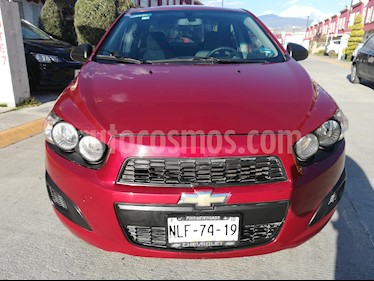 Chevrolet Sonic LS usado (2013) color Rojo Tinto precio $93,000