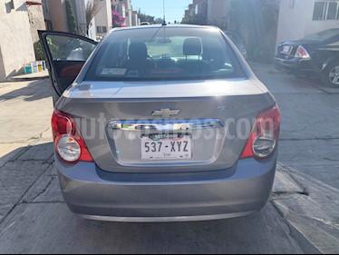Chevrolet Sonic Paq C usado (2012) color Gris Urbano precio $85,000