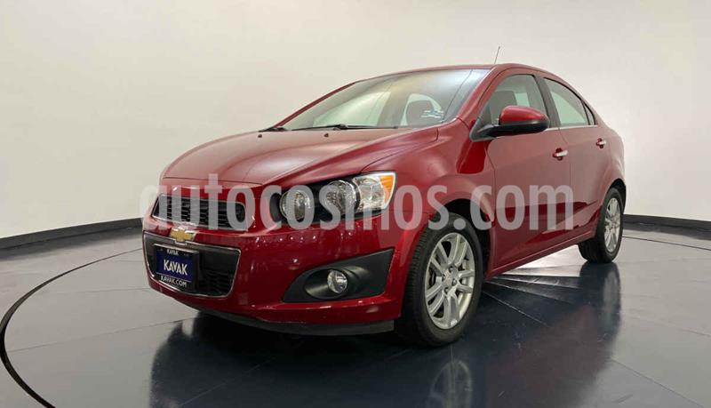Chevrolet Sonic LTZ Aut usado (2015) color Rojo precio $147,999