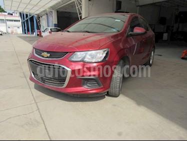 Chevrolet Sonic LT usado (2017) color Rojo precio $86,000