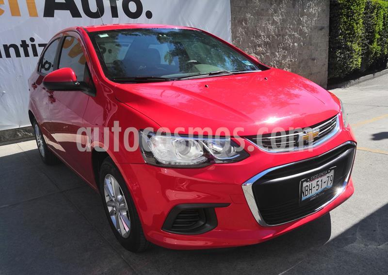 Chevrolet Sonic LS usado (2017) color Rojo precio $175,000