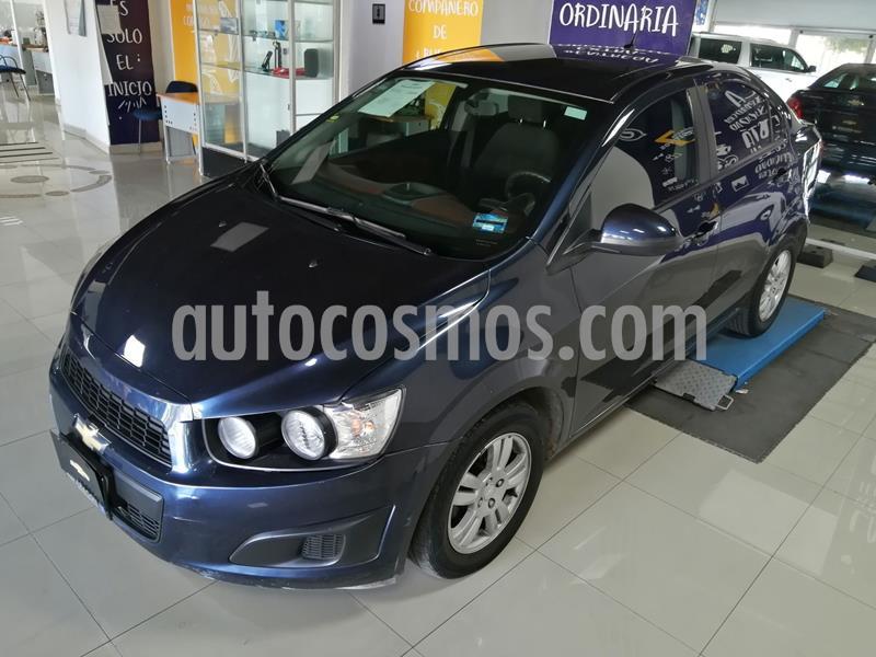 Chevrolet Sonic LT usado (2016) color Azul precio $160,000