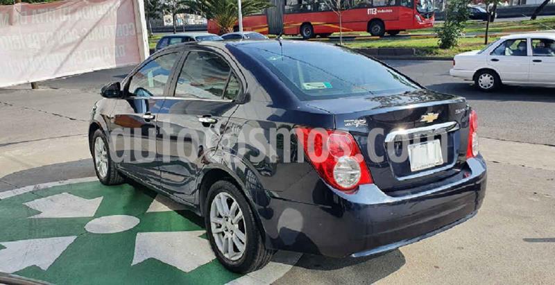 Chevrolet Sonic LTZ Aut usado (2016) color Azul precio $154,000