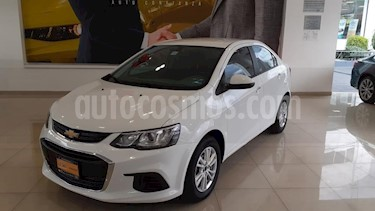 Chevrolet Sonic 4P LT TM5 A/AC. VE BA RA-15 usado (2017) color Blanco precio $166,692