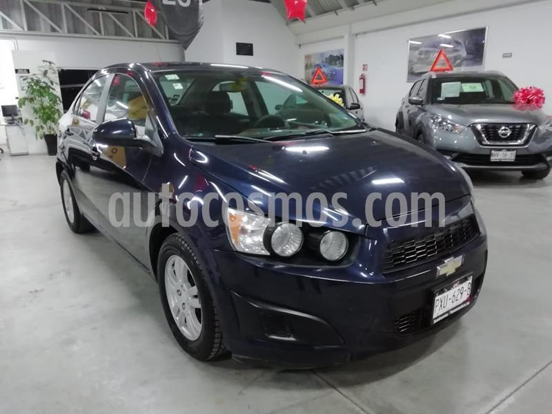 Chevrolet Sonic LT Aut usado (2015) color Azul Naval precio $129,000