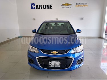 Chevrolet Sonic Paq A usado (2017) color Azul precio $170,000