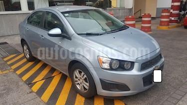 Chevrolet Sonic 4p LT L4/1.6 Aut usado (2013) color Azul precio $119,000