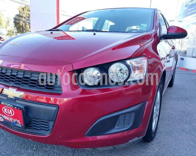Chevrolet Sonic LT HB usado (2016) color Rojo precio $139,900