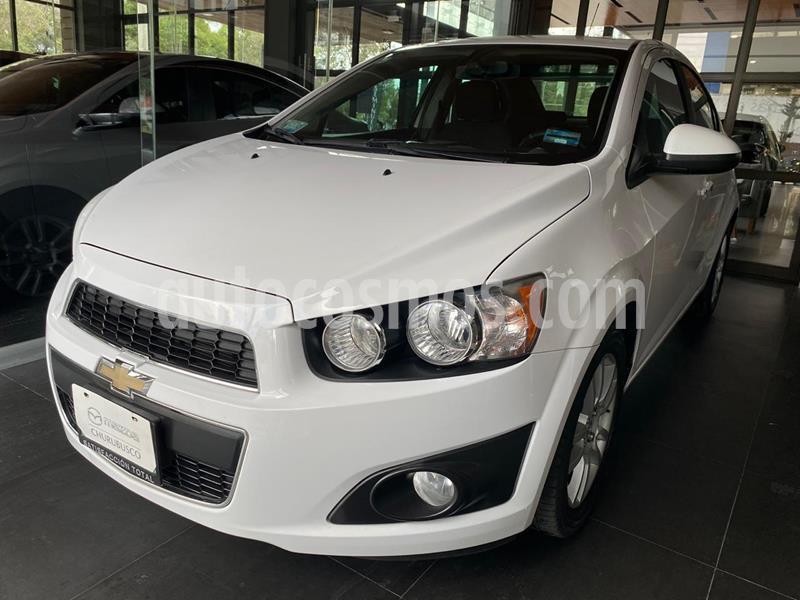 Chevrolet Sonic LTZ Aut usado (2015) color Blanco precio $140,000