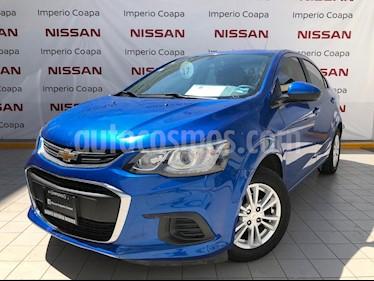 Chevrolet Sonic Paq D usado (2017) color Azul Electrico precio $169,000