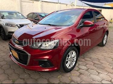 Chevrolet Sonic 4P LS TM5 A/AC. VE R-15 usado (2017) color Rojo precio $185,000