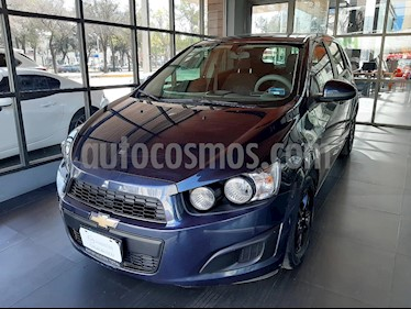 Chevrolet Sonic LT HB usado (2016) color Azul Naval precio $140,000