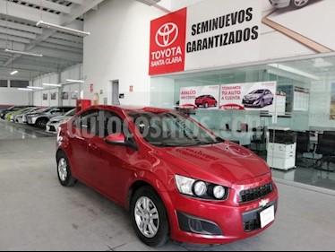 Chevrolet Sonic 4P LT L4/1.6 MAN usado (2016) color Rojo precio $159,000