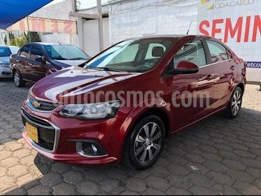 Chevrolet Sonic 4P PREMIER L4/1.6 AUT usado (2017) color Rojo precio $215,000