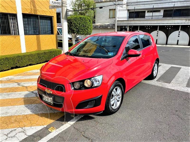 Chevrolet Sonic LT usado (2016) color Rojo Tinto precio $129,900