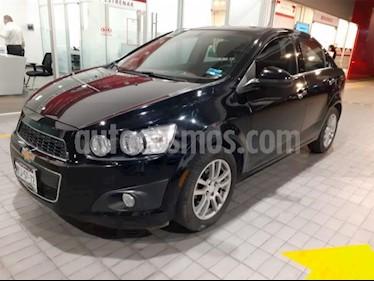 Chevrolet Sonic 4p LTZ L4/1.6 Aut usado (2016) color Negro precio $185,000
