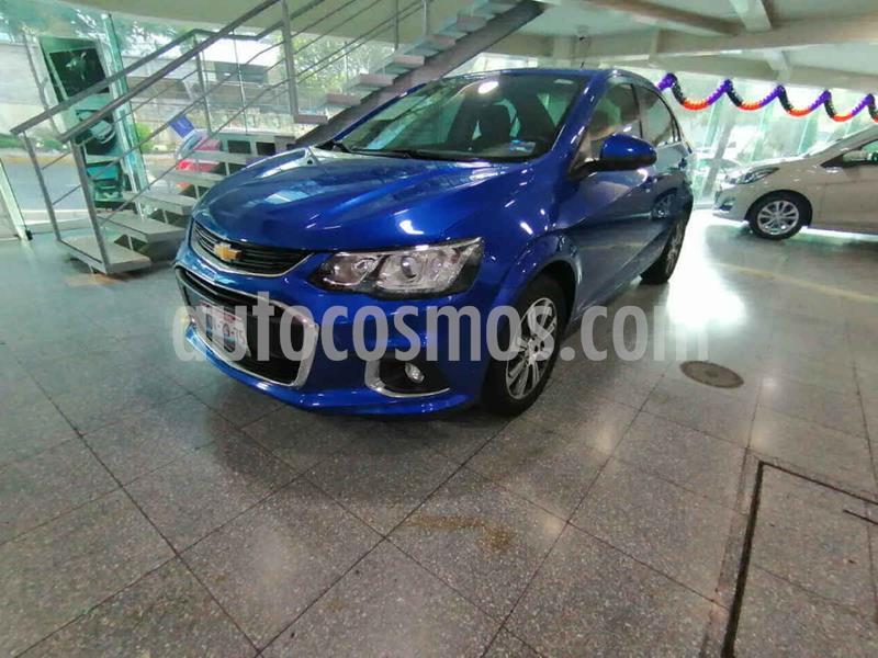 Chevrolet Sonic Premier Aut usado (2017) color Azul precio $184,000
