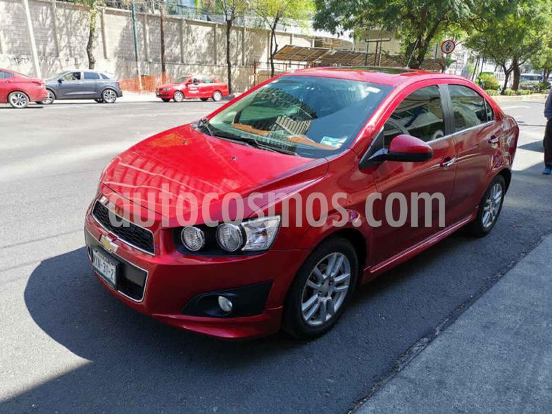 Foto Chevrolet Sonic LTZ Aut usado (2016) color Rojo precio $169,000
