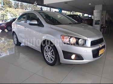 Chevrolet Sonic 4P LTZ L4/1.6 AUT usado (2015) color Plata precio $135,000