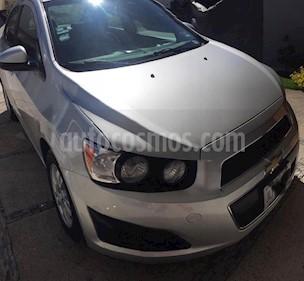 Chevrolet Sonic LT Aut usado (2014) color Plata Brillante precio $120,000