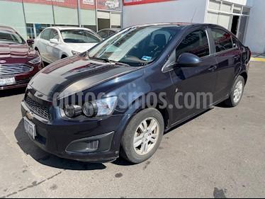 Foto Chevrolet Sonic LT Aut usado (2016) color Azul Naval precio $160,000