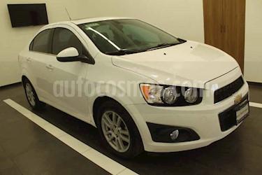 Chevrolet Sonic 4p LTZ L4/1.6 Aut usado (2015) color Blanco precio $165,000