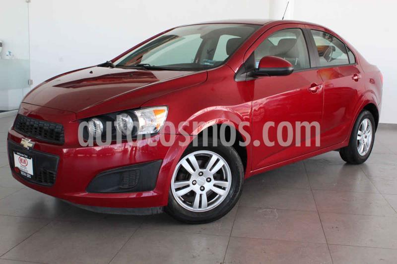 Chevrolet Sonic LT usado (2015) color Rojo precio $149,000
